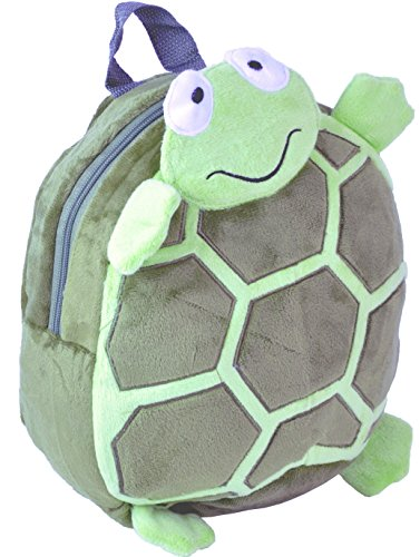 Character Backpack for Kids - Back to School Bags with Cute Animal Designs - Lightweight Rucksack - Perfect for Toddlers, Children, Boys & Girls (Turtle)