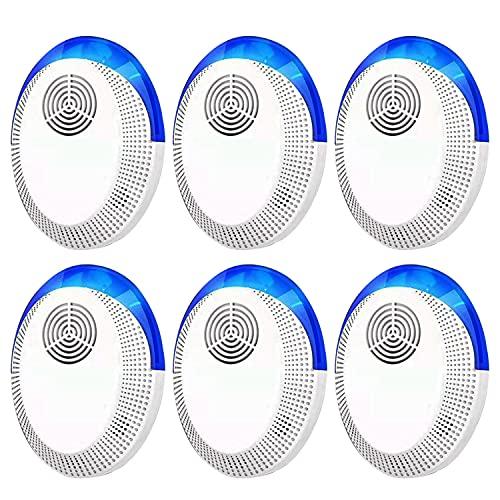 Bocianelli Ultrasonic Pest Repeller 6 Packs,Pest Repellent...