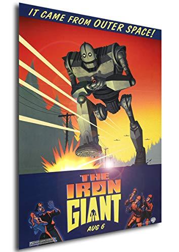 Poster Il Gigante di Ferro Vintage Locandina - Formato (42x30 cm)