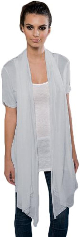 Blanks Women's Eco MicroModal Fine Jersey Drape Front Cardigan