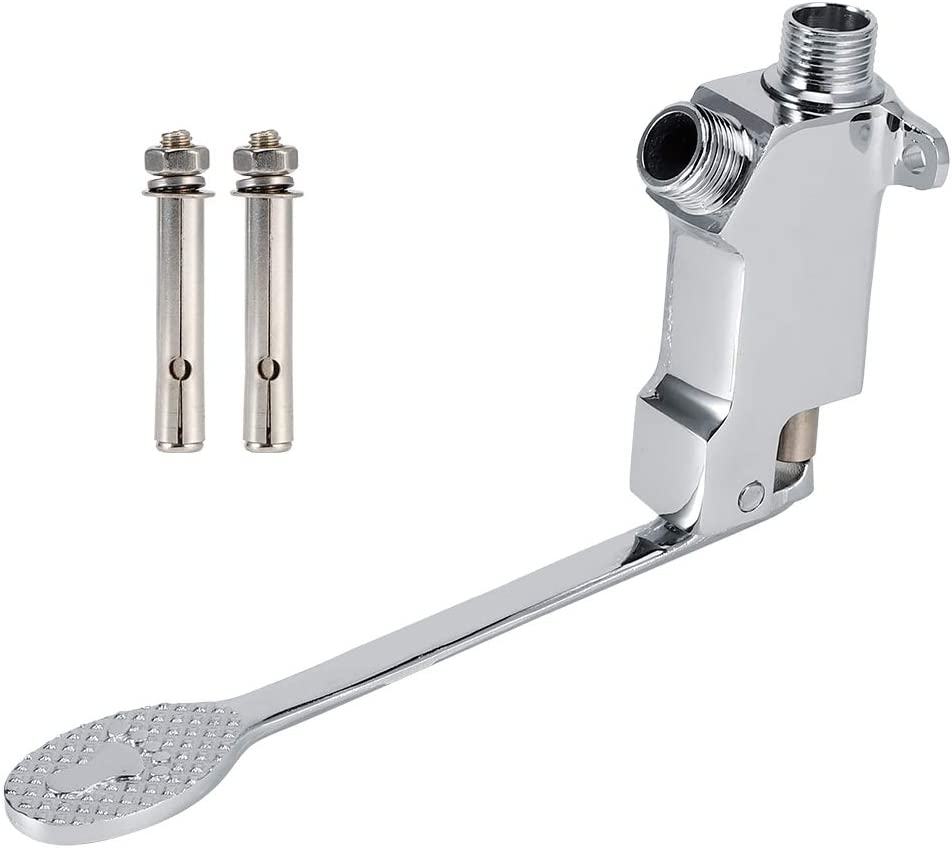 Floor Faucet Max 43% OFF Fort Worth Mall Single Foot Valve Copper 8.1in Pedal Material
