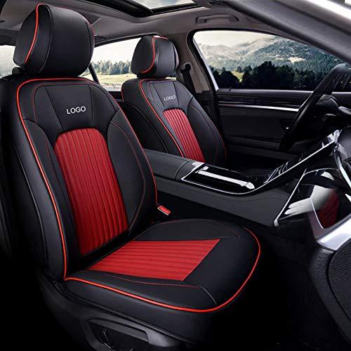 Whitejianpeak Compatible con los Cojines del Asiento del automóvil Mercedes-Benz Citan Tourer, Cubiertas de Asientos Interiores de automóvil con Todo Incluido, con Bordados de Logotipo