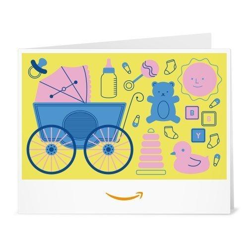 Amazon.de Gutschein zum Drucken (Baby Icons (gelb))