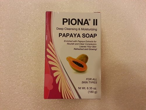 Piona II Deep Cleansing & Moisturizing Papaye Soap 6.35 oz