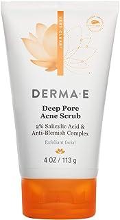 DERMA E Deep Pore Acne Scrub, 4 oz