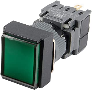 New Lon0167 AC 250V Featured 5A SPDT 3 Reliable Efficacy Pin Square Cap Momentary Push Button Power Switch LA128A id:6ec b0 1a fa5