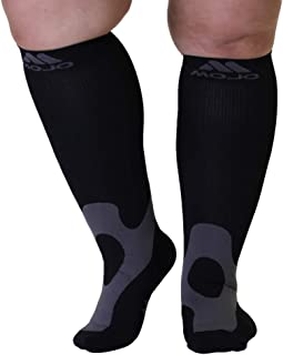 Mojo Coolmax Recovery & Performance Sports Compression Socks - Triathlete Compression Socks - Unisex