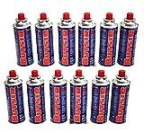 Butsir - Cartuchos de recarga de gas 227 g – Paquete de 12 cartuchos de gas