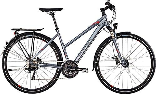 Bergamont Horizon 7.0 Trekking Damen Fahrrad grau/rot 2015: Größe: 44cm (158-164cm)