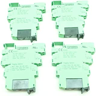 LOT of 4 PHOENIX CONTACT PLC-BSC-24DC/1-1/ACT 29-82-100 Relay Module
