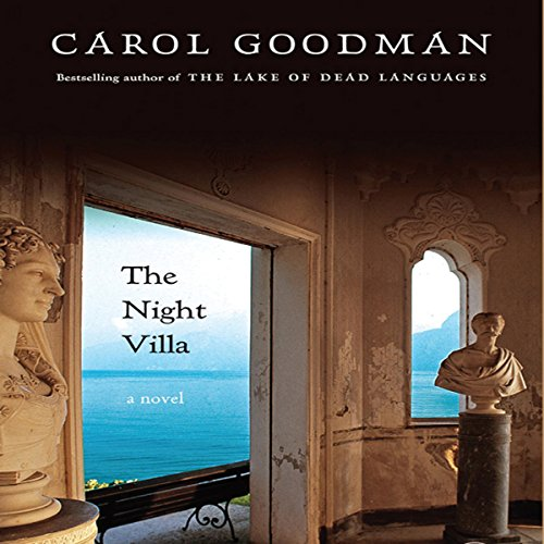 The Night Villa audiobook cover art
