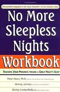 No More Sleepless Nights Workbook by Peter Hauri (2000-12-27)