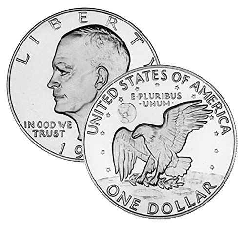 1973 P D Virginia Beach Mall 2 Coin Set Ranking TOP6 Uncirculated Dollars Eisenhower