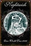 None Brand Nightwish Retro Wanddekoration Metall