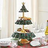sfadf Etagere, Dessert Ständer, Snackregal Für Den Weihnachtsbaum, Weihnachten...