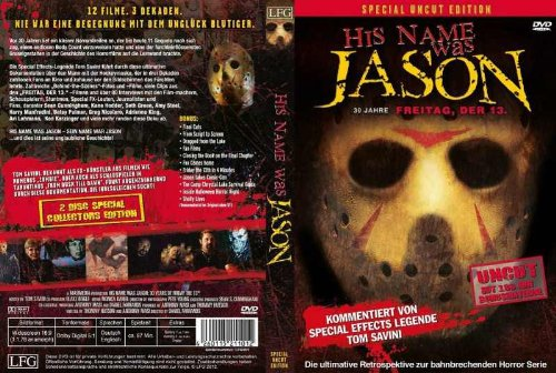 His Name was Jason - Special Uncut Edition (Doku) [2 DVDs]
