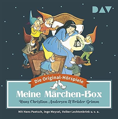 Meine Märchen-Box – Die 34 schönsten Märchen-Hörspiele: Hörspiele mit Eduard Marks, Hans Paetsch, Volker Lechtenbrink u.v.a. (6 CDs)