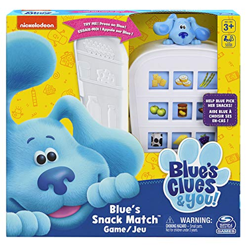 Nickelodeon Blue's Clues Snack Matching Game Now $8.99 (Was $19.99)