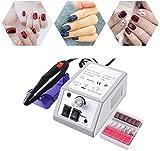 Fresa Per Unghie,6 in 1 Elettrico Manicure E Pedicure Elettrico Professionale Kit,Gel Per Unghie Cuticole Trapano Elettrico Per Unghie Manicure E Pedicure,Le Ricostruzione Unghie Per Casa E Salone