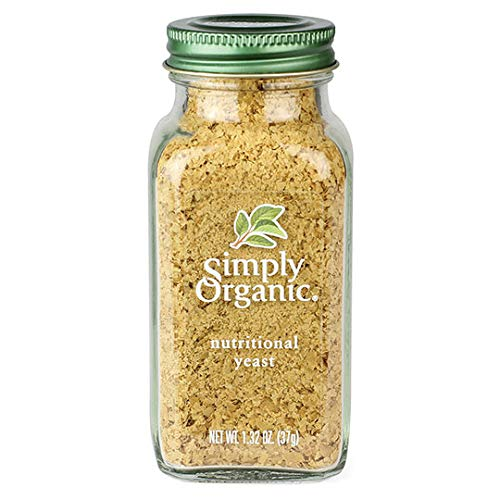 Simply Organic Nutritional Yeast, Certified Organic | 1.32 oz