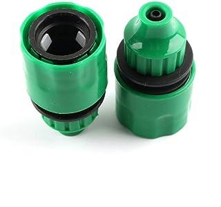 anruo 4pcs hose garden quick connector faucet adapter garden micro drip irrigation water pipe connector garden water conne...