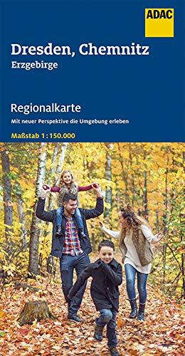 ADAC Regionalkarte Blatt 10 Dresden, Chemnitz: Erzgebirge 1:150.000 (ADAC Regionalkarten 1:150.000)
