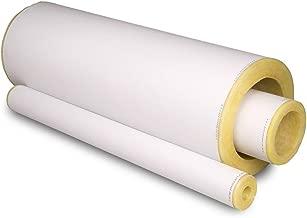 Johns Manville Micro-Lok® HP - Aislamiento de tubería de fibra de vidrio 1/2 x 1/2 - ASJ - 255 LF/CT (Bulk), 1/2 x 1/2