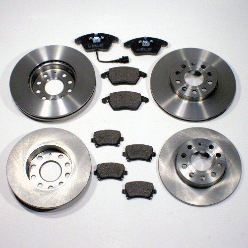 Bremsscheiben Bremsen + Bremsbeläge für vorne + hinten