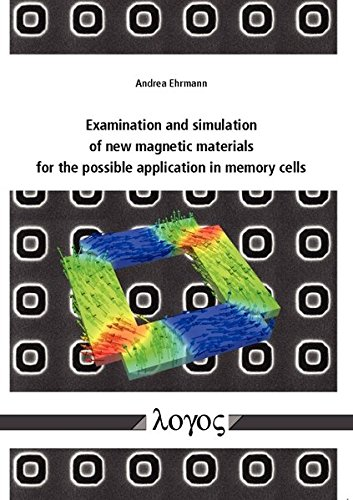 Examination and simulation of new magnetic materials for the possible application in memory cells