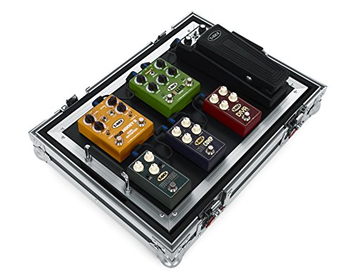Gator Cases G-TOUR Series Guitar Pedal board with ATA Road Case; Small: 17' x 11' (G-TOUR PEDALBOARD-SM)