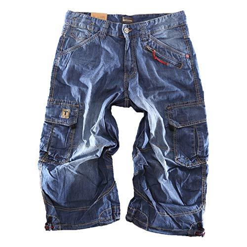 Timezone Herren Jeans Shorts Loose Miles TZ 3131 W40