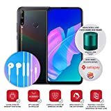 "huawei p40 lite e con cuffia am115, display fullview da 6.39"", kirin 710f octa core, nero, versione italiana"