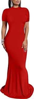 Best fishtail red dress Reviews