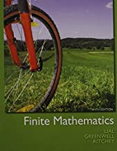 Finite Mathematics, MyMathLab, Student Solutions Manual, and Graphing Calculator and Excel Spreadsheet Manual (10th Edition) by Margaret L. Lial (2012-04-26)