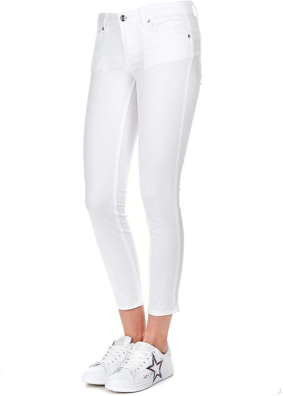 Liu Jeans Women's W19396T228611111 White Cotton Jeans