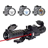 OTW Laser Reticle 3-9X32EG Rifle Scope Blue...