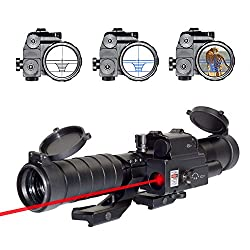 OTW Laser Reticle 3-9x32EG Rifle Scope