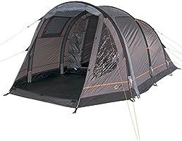 Portal utomhus uppblåsbart lufttält alfa 4/5 personer med pump och transportväska, vattentät, panoramafönster