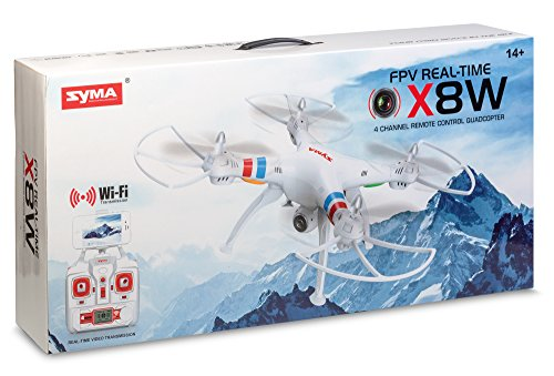 SYMA 22605X8W Quadcopter mit WiFi aktiviert Kamera, die überträgt live Video