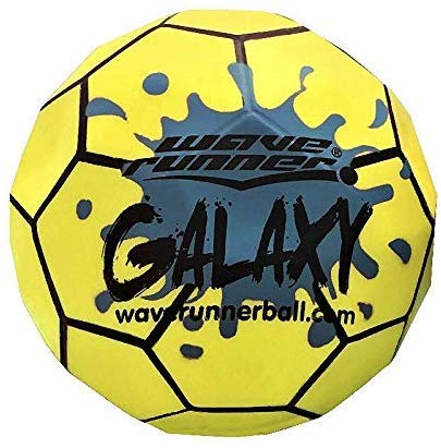 Wave Runner Galaxy Ball #1 Water Ball for Skipping and Bouncing The Perfect Pool Ball and Ocean Ball (2-Pack)