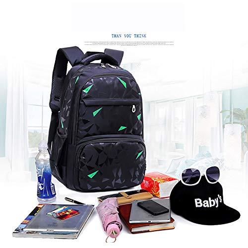 Anabei Bolsas escolares para estudiantes de primaria y secundaria, mochilas para niños, mochilas coreanas para niños, mochilas para niños