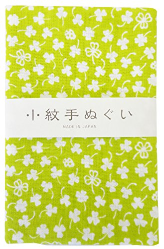 Japanese Traditional Towel Tenugui Small Pattern Clover by Miyamoto-Towel