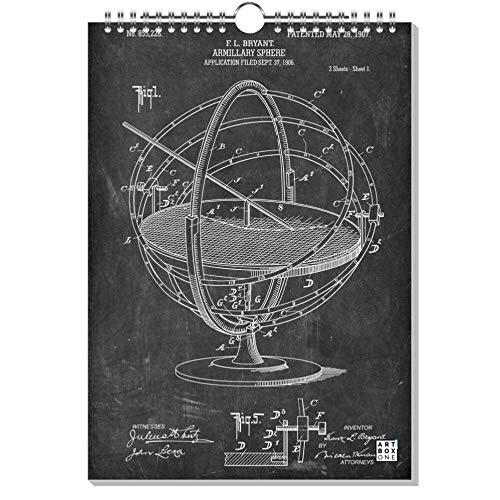 artboxONE Kalender 2021 Adventurous Inventions Wandkalender A3 2021 Reise