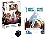 Lot de 2 Jeux Iello : Time Bomb + High Risk + 1 Yoyo Blumie