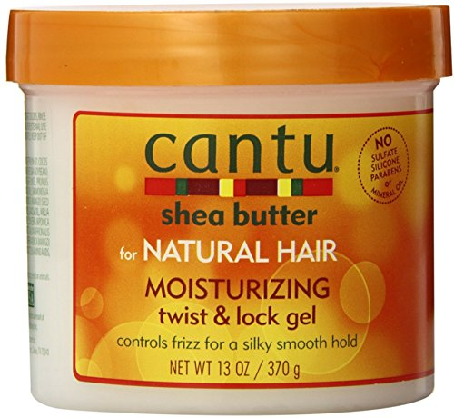 Cantu Shea Butter For Natural Hair Moisturizing Twist & Lock Gel, 13 ounce by Cantu