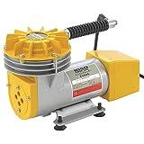 キソパワーツール ダイヤフラムコンプレッサー圧力スイッチタイプ 【最高圧力・0.3MPa・空気量・20L/分】 小型コンプレッサー E5605