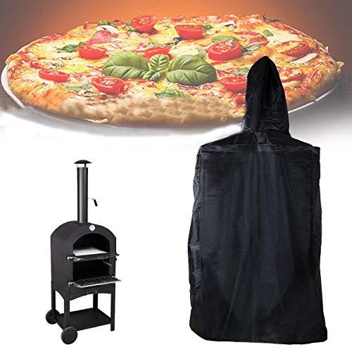 AQzxdc Funda Impermeable y Duradera para Horno de Pizza, Cubierta de Almacenamiento Protectora para Horno de Pizza para jardín al Aire Libre, Resistente a la Intemperie, a Prueba de Polvo,65X54X122cm