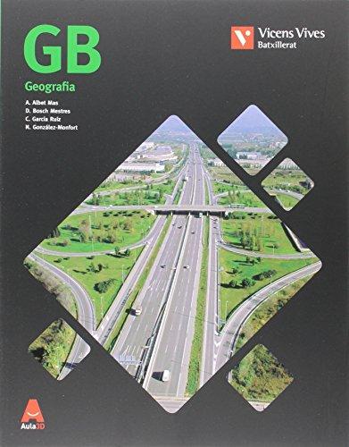 GB (GEOGRAFIA) BATXILLERAT AULA 3D: GB Geografia. Llibre i Separata Geografia Humana i Económica de Catalunya: 000001