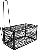 HOUZE DY-8945 - Mouse and Rat Trap Cage (Big) Black