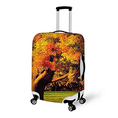 Autoreifen hängen am Baum 18-21-Zoll-Reise-Spandex-Koffer mit großer Abdeckung Waschbare Gepäckabdeckungen, wie abgebildet, S-18-21-Zoll
